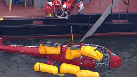 Victims of NYC helicopter crash all drowned: Medical examiner