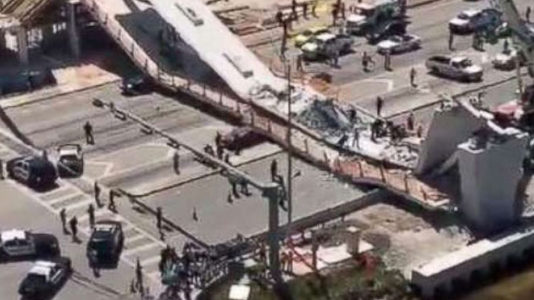 Death toll from Florida bridge collapse climbs to 6