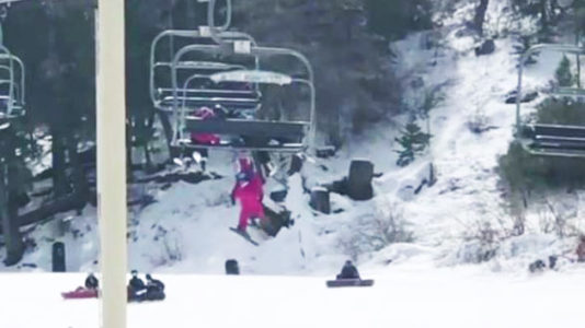 Mom recalls the 'absolute fear' of watching daughter, 5, dangle from a ski lift