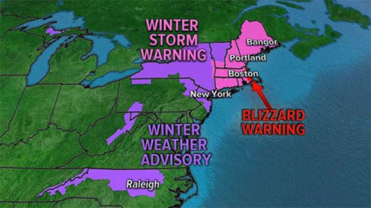 Nor'easter pummels Boston as Seattle experiences record heat