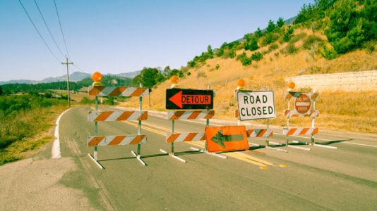 Mudslide in Malibu may block road for several days