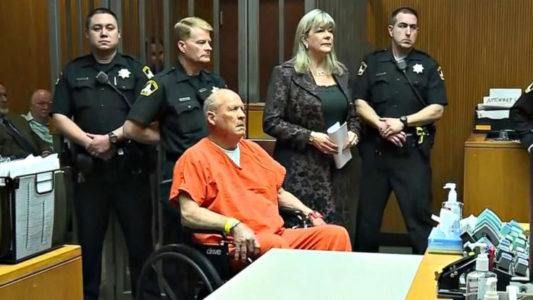 Suspected 'Golden State Killer' attends first court appearance handcuffed in wheelchair