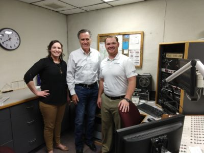 Listen to an interview with Mitt Romney on Morning Talk