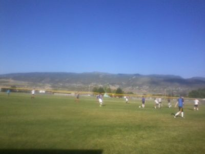 Wasatch Boys Soccer Camp Going Well at Snow College