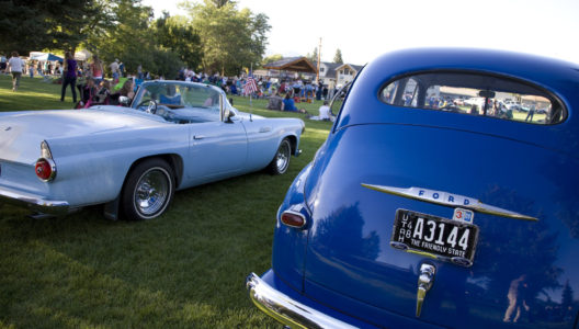 Back to the 50's Car Show This Weekend in Heber City