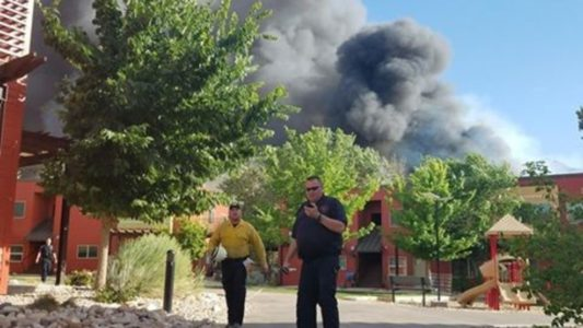 Teen boy admits to causing catastrophe in Moab fire in June