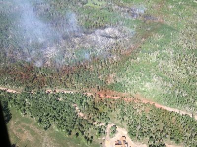 Monviso Fire is 75 Percent Contained