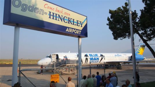 Salt Lake City protests name change for Ogden airport