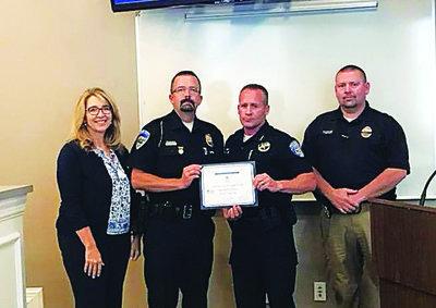 Heber Police Award