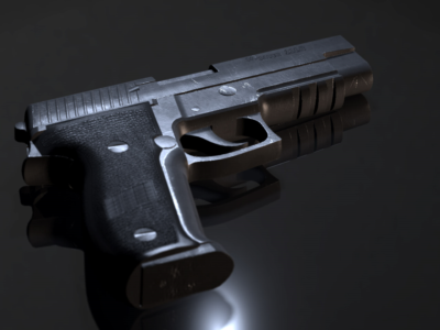 Charge possible after gun left on bathroom changing table
