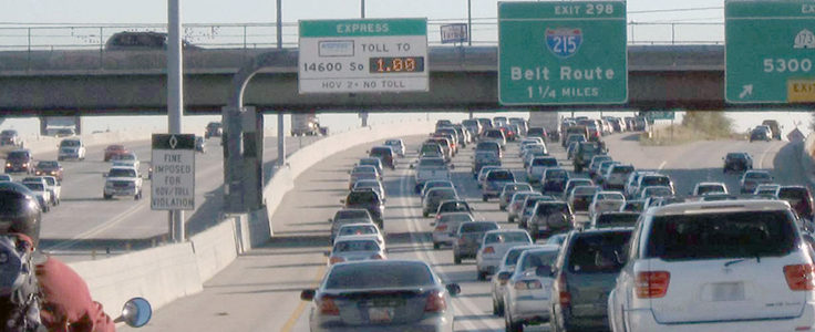 Utah commuters to pay higher Interstate 15 express lane toll
