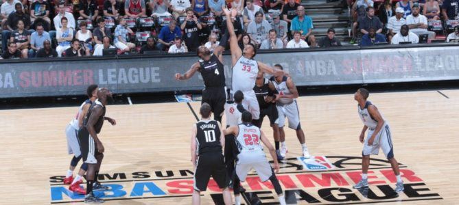 Jackson scores 29, outshines Young in Summer League debut