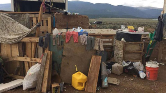 Investigators working to identify remains found at squalid New Mexico compound