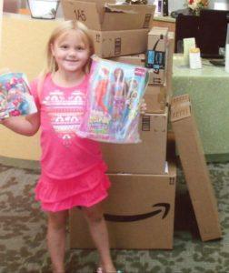 Utah girl secretly orders nearly $400 worth of toys online