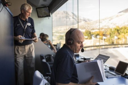Longtime BYU Football Color Analyst To Retire At Season's End