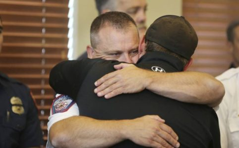 Procession set for Utah firefighter killed in California