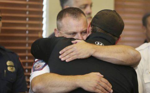 Body of firefighter killed in California returns to Utah