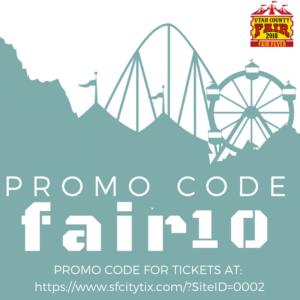 Tickets for the Utah County Fair