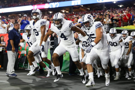 BYU spoils Sumlin's debut with 28-23 win over Arizona