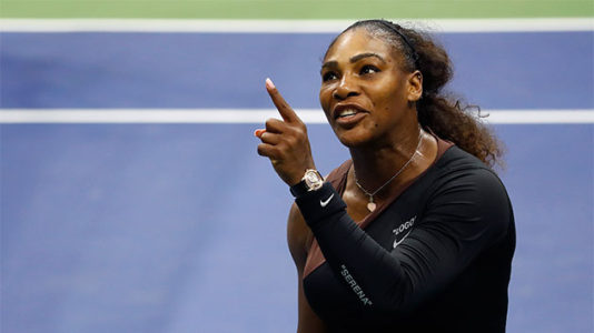Serena Williams fined $17,000 for outburst at the US Open