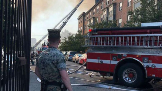 Elderly man found alive in apartment days after fire ravages DC senior living facility