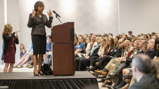 Anita Hill says #MeToo movement can create lasting change