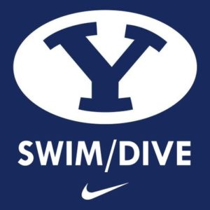 BYU Swimming/Diving Practices In New Facility