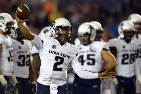 Eberle kicks 6 field goals in Utah State victory
