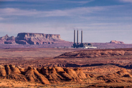 D0132B Navajo Generating Station, a 2250 megawatt coal-fired power plant located on the Navajo Indian Reservation near Page, Arizona