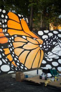 Monarch butterfly murals land in Utah