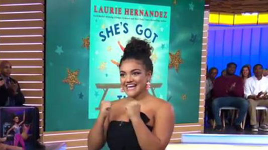 Laurie Hernandez talks new children's book, announces she's training for 2020 Olympics