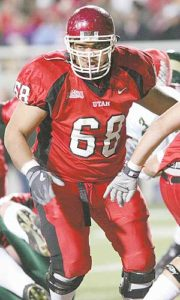 Former Utah Football Star Chris Kemoeatu Named as Poly Football HOF Finalist