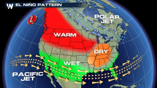 El Nino could bring drought relief to southwestern US