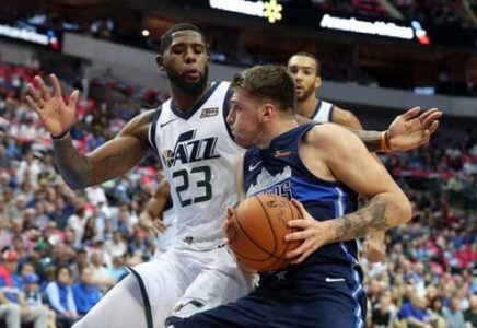 Gobert, Jordan post double-doubles, Jazz beat Mavs 113-104
