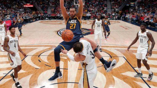 Gobert, Rubio dominate as Jazz tops Pelicans, 132-111