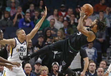 Rose scores career-high 50 as Timberwolves top Jazz 128-125