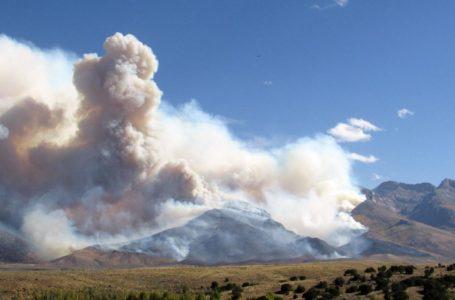 Rain brings relief to firefighters battling Nevada blaze