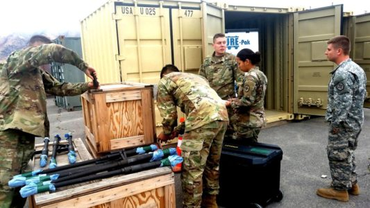 Army Reserve unit from northern Utah deploying to Kuwait