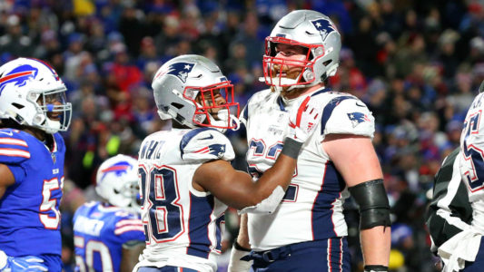 McCourty's pick-6 seals Patriots' 25-6 win over Bills