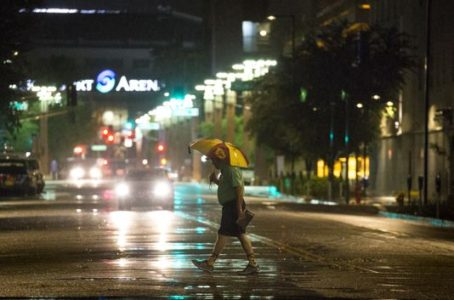 The Latest: Flash flood warning issued for metro Phoenix