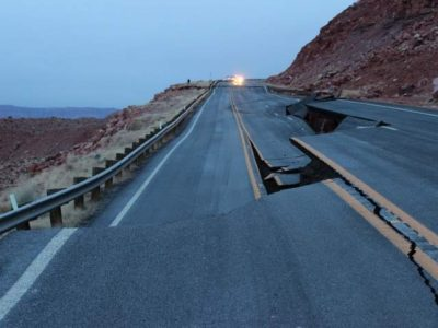 Storm-damaged section of northern Arizona highway reopens