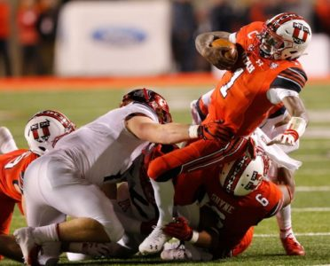 Huntley passes, runs, catches for TDs, Utah rolls Arizona