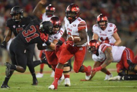 Utah beats No. 14 Stanford 40-21 as injured Love sits out