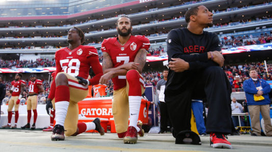 50 years after raised fists at Olympics, legacy of protest continues with Kaepernick
