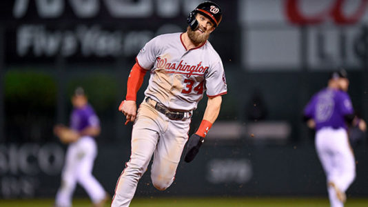 Report: Bryce Harper turned down 'aggressive offer' from Nationals