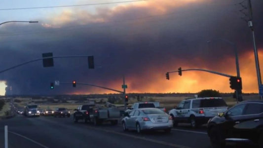Officials order evacuations as Camp Fire threatens 20,000 acres in Northern California