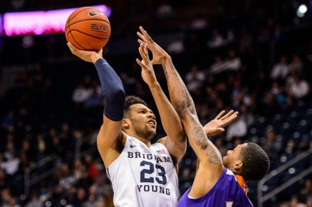 Childs' double-double leads BYU past Northwestern St. 82-57