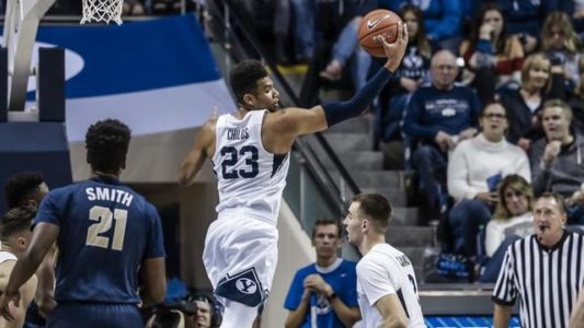 Childs surpasses 1,000 points; BYU beats Oral Roberts 85-65