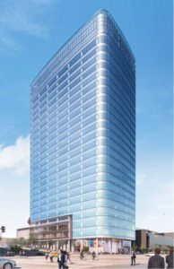Church of Jesus Christ of Latter-Day Saints developers planning 28-story office tower