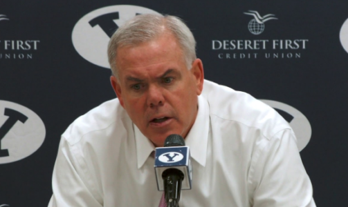 BYU Men's Basketball Coach Dave Rose Signs Extension Through 2020-21